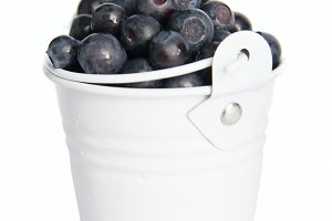 Fresh blueberries fruits