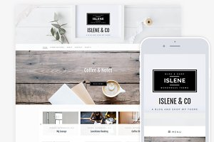 Islene / Blog & eCommerce Theme