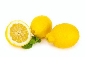 Fresh lemon fruit