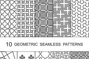 Seamless Geometric Patterns Set 1