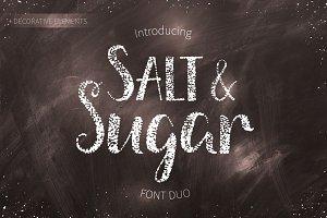 Salt And Sugar.Font Duo