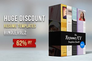 Premium Resume Bundle Vol.2