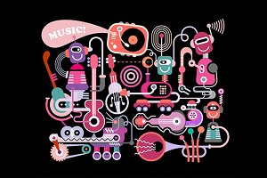 Electro Pop Music Concert
