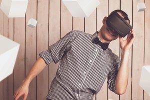 . VR glasses.