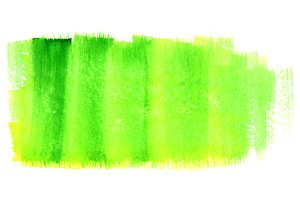 Watercolor neon green spot texture