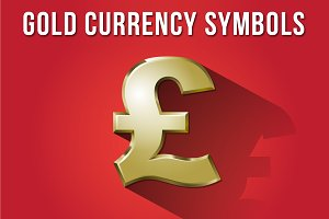 Gold Currency Symbols