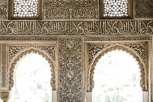 Arab ornaments and decoration.