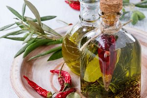 Spicy olive oil
