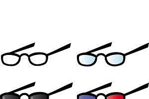 Eyeglasses. Collection