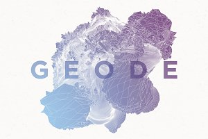 Geode Abstract Formations