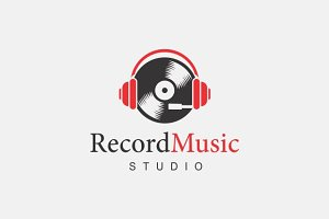 Record Music Logo