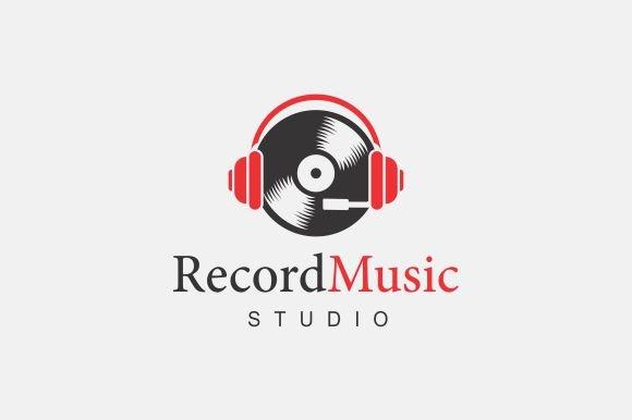 Record Music Logo ~ Logo Templates ~ Creative Market