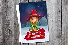 Santa Claus elf helper