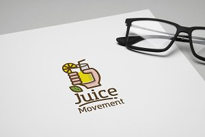 Juice Movement Logo Template