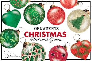 Christmas Red and Green Pack