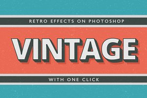 Text Effects - Vintage Style