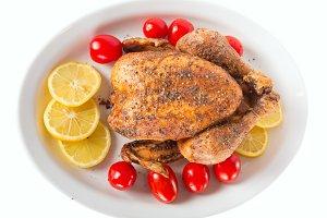 Aroma roasted chicken