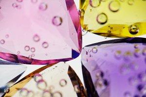 Jewel. Gems. Precious stone. Macro