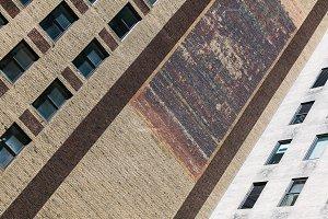 Abstract Manhattan Architecture