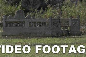 Cemetery in the water. Hanoi
