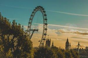 The London Eye on River Thames