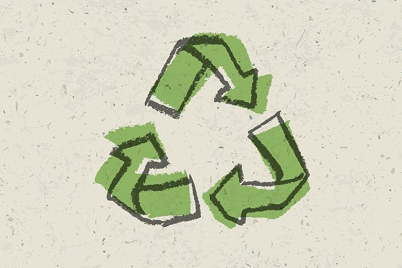 Reuse sign. Go green concept - Icons