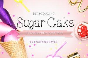 Sugar Cake Serif Font