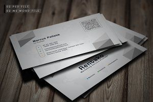 Business Card+Bonus Ms Word File