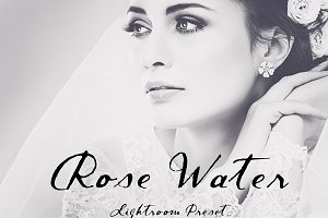 Rose Water Soft Portrait LR Preset