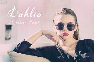 Dahlia Airy Portrait LR Preset