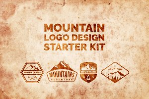 Mountain Logo Design Starter Pack