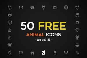 Animal icons pack