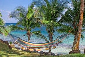 Corn Island tropical beach