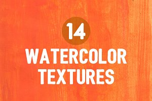 14 Watercolor Textures