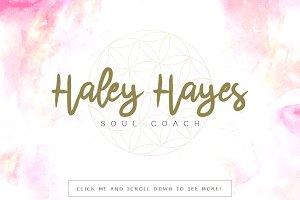 Haley Hayes Premade Logo
