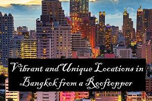 Unique Bangkok Rooftop Photography