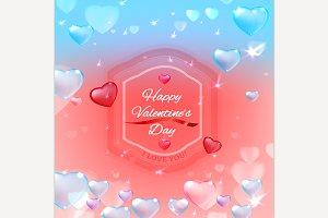 Valentine's Da Postcard