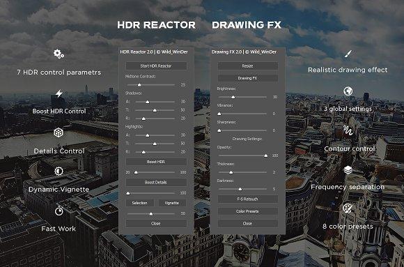 HDR Reactor Panel 2 0