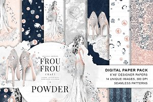 Fashion Wedding Paper Pack