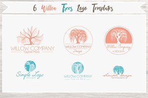 6 Willow Tree Logo Templates- Styles