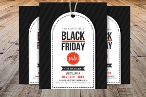 Black Friday Flyer Template V2