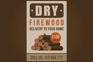 Firewood advertisement