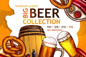 Big Beer Sketch Collection