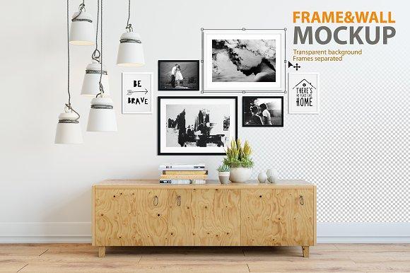 Frame & Wall Mockup 04 ~ Product Mockups ~ Creative Market
