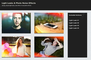 Light Leaks & Photo Noise Effects