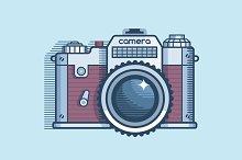 Camera retro design
