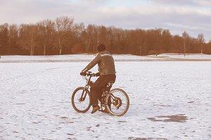 Biking on ice