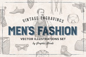 Men's Fashion - Vintage Engravings