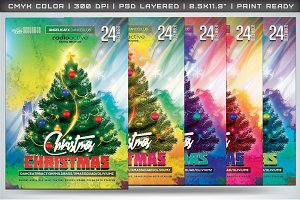 Christmas Christmas Flyer Template