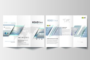 Tri-fold brochures v.18